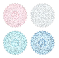 Deco Parchment Doilies Pastels Set of 20 Assorted