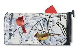Winter Morning Cardinals MailWrap