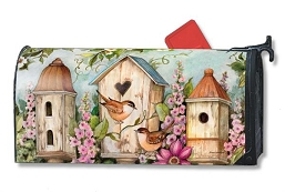 Cottage Birdhouse MailWrap