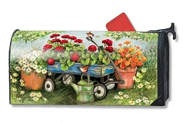 Geraniums By The Dozen MailWrap