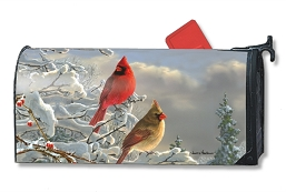 Winter Cardinals MailWrap