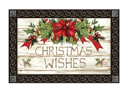 Christmas Wishes MatMate Doormat