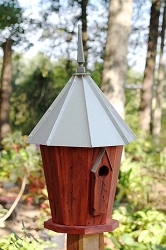 Innspire Bird House with Galvanized Roof