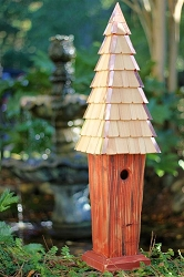 Skyscape Bird House Redwood