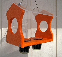 Recycled Poly Hanging Oriole Feeder