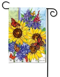 Butterflies & Blossoms Garden Flag