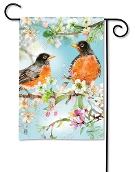 Spring Has Arrived Garden Flag
