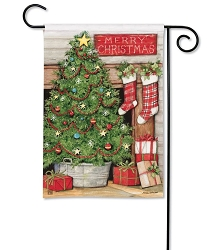 Christmas Tree Garden Flag