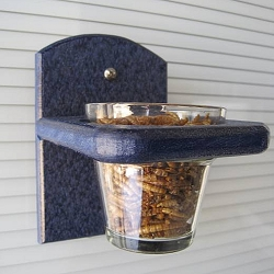 Recycled Poly Mealworm Window Feeder