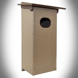 Amish Recycled Poly Wood Duck House