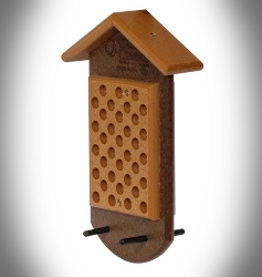 Amish Recycled Poly Double Peanut Butter Bird Feeder