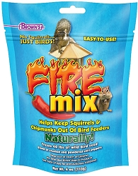 Brown's Fire Mix Bird Seed Treatment 4 oz. 8/Pack