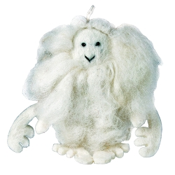 Wild Woolies Yeti Joe Ornament