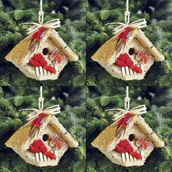 All Season Wren Casita Edible Birdhouse  4/Pack