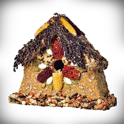 Rustic Sparrow Edible Birdhouse