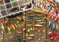 Fishing Lures 1000 Piece Jigsaw Puzzle
