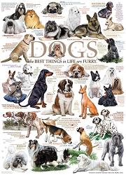 Dog Quotes 1000 Piece Jigsaw Puzzle