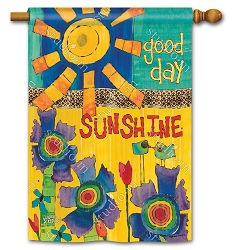 Good Day Sunshine House Flag