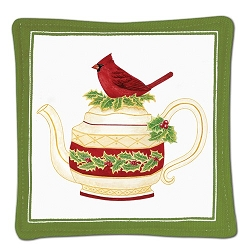 Cardinal Teapot Spiced Mug Mat Set of 2