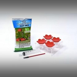 Hummer Ring™ All Red Hummingbird Feeder Starter Kit