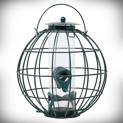 Petite Orb Caged Seed Feeder