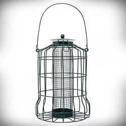 Petite Caged Mesh Seed Feeder
