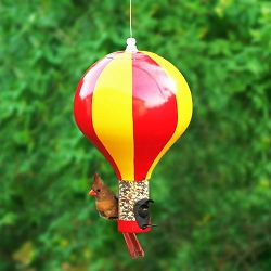 Hot Air Balloon Bird Feeder