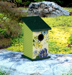Butterfly Haven All-Weather Bird House