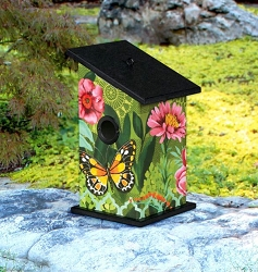 Butterfly's Paradise All-Weather Bird House