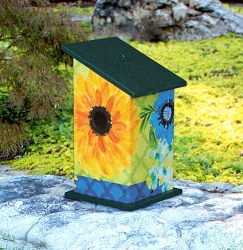 Fresh and Pretty All-Weather Bird House