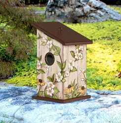 Garden Shed All-Weather Bird House