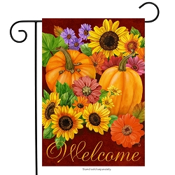 Briarwood Lane Fall Glory Garden Flag
