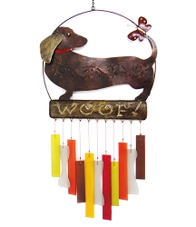 Dachsie Woof Wind Chime