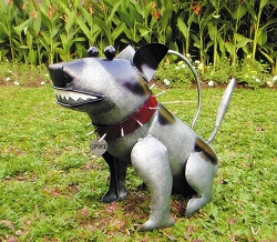 Spike the Dog Watering Can