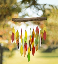 Waterfall Windchime Fall Colors