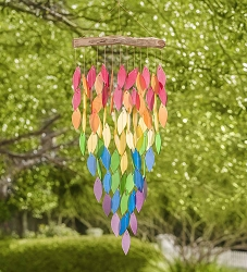 Waterfall Windchime Deluxe Rainbow