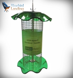 Forever Sunflower Feeder 1 Quart Green Set of 2