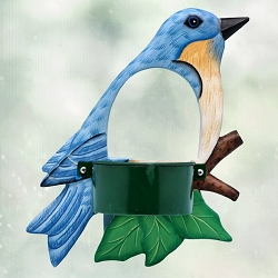 Bluebird Window Feeder