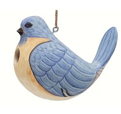 Fat Bluebird Birdhouse