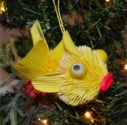 Brushart Tropical Fish Assorted Ornament