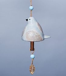 Bird Song Ceramic Bell Dove