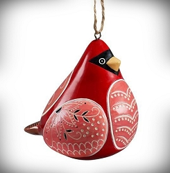 Cardinal Bird Song Ornament