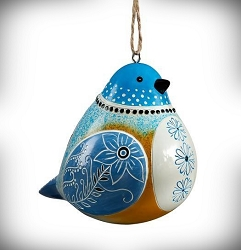 Bluebird Bird Song Ornament