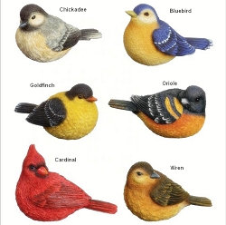 Backyard Bird Classic Mini Figurines Set of 6