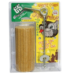 Sweet Corn Squirrel Log 16 oz. w/Hanger 6/Pack