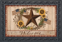 Briarwood Lane Autumn Welcome Barnstar Doormat
