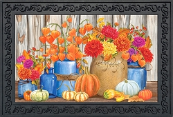 Briarwood Lane Fall Mason Jars Doormat