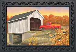 Briarwood Lane Autumn Bridge Doormat