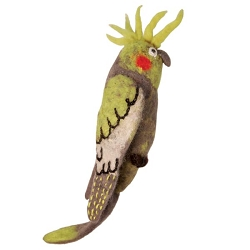 Cockatiel Woolie Ornament