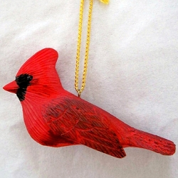 Cardinal Male Ornament